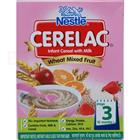 Nestle Cerelac Wheat Rice Mixed Fruit (Stage 3) (300 gm)