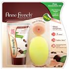 Anne French Creme Hair Remover Shea Butter Aloe Green Tea Plus Free Sponge (40 gm)