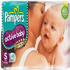 Pampers Active Baby Diapers S. (46 pcs)