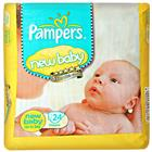 Pampers New Baby Diapers Upto 5 Kg (24 pcs)