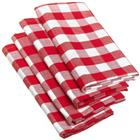 Chekered Napkins Set (3 Pcs) 45cm*45cm (1 Set)