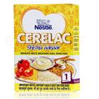 Nestle Cerelac Wheat Rice Moonge Dal khichdi(Stage 1) (300 gm)