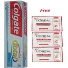 Colgate Total Advanced Health Toothpaste Free Loreal Paris Shampoo Sachets (140 gm)